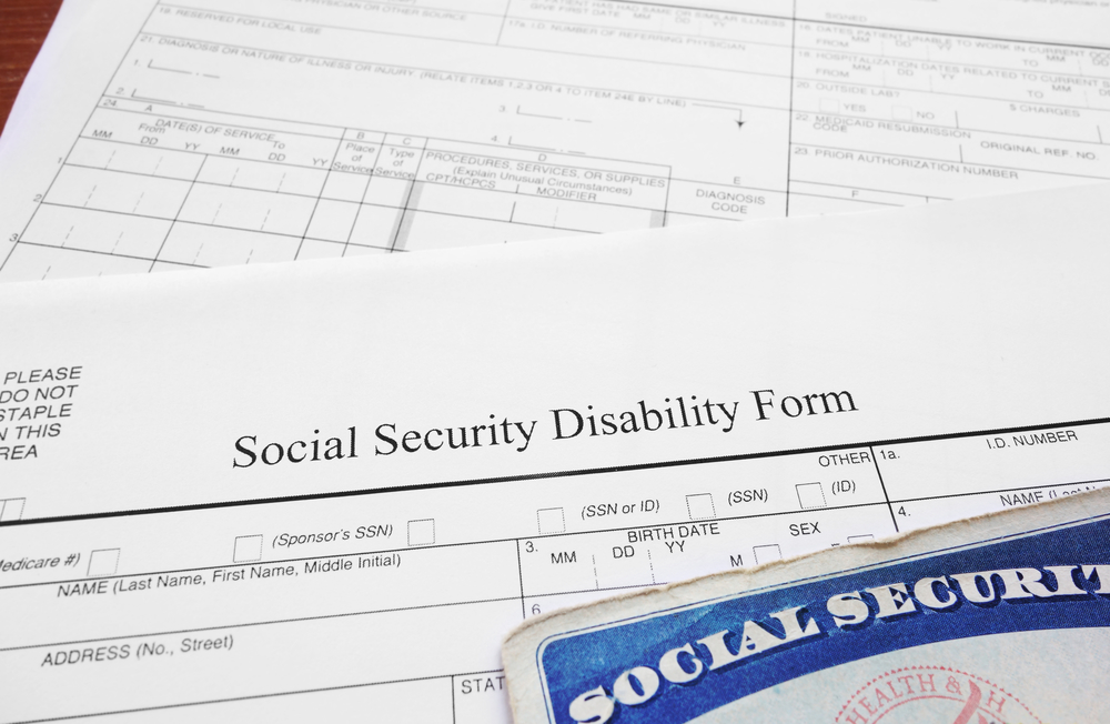 Social Security Disability Review Form