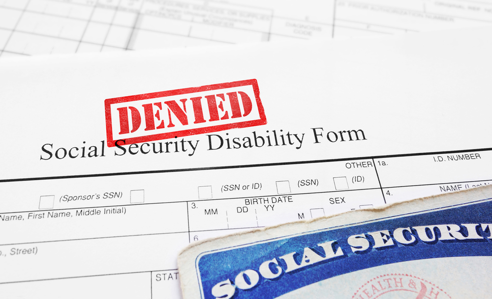 Technical Denial in SSDI